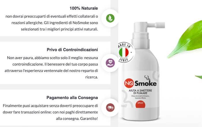 benefici di No Smoke